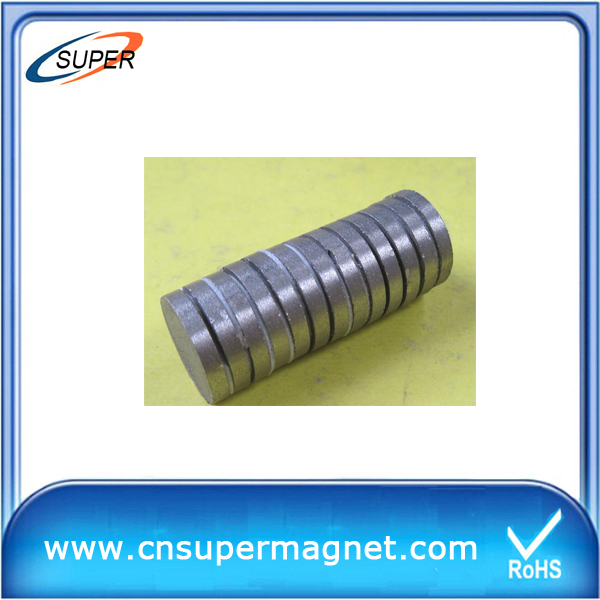 Promotional D12*4 mm Disc magnets SmCo