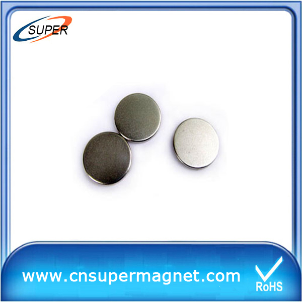 Strong 42M Sintered Neodymium disc magnet