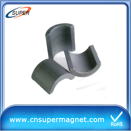 Y30 arc common ferrite magnets