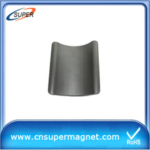 Strong Arc Ferrite Magnet for motor