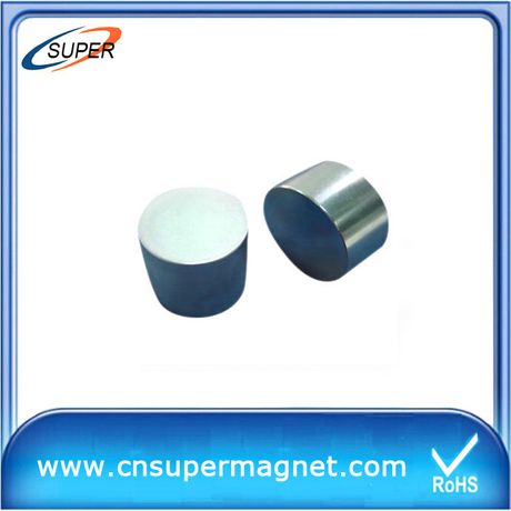 High Quality D20*10mm SmCo Permanent Magnet