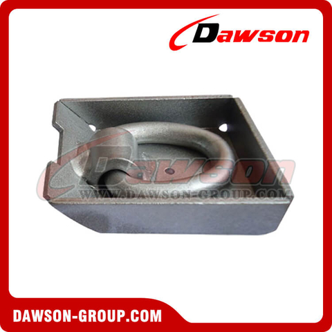 PPE-7 BS 6000kgs/13200lbs Surfaced Mounted D Ring - Pan Fitting