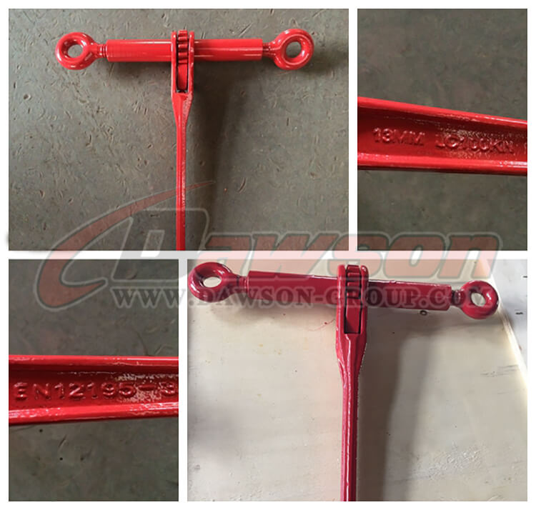 DSRLBW Ratchet Type Load Binder Without Links Or Hooks - Dawson Group Ltd. - China Manufacturer, Supplier, Factory