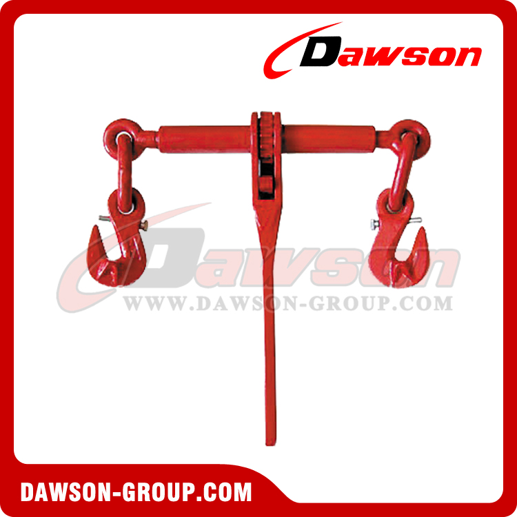 DS670 G80 RATCHET BINDER WITH SAFETY HOOKS