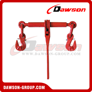DS670 G80 Ratchet Binder With Safety Hooks to EN 12195-3, Grade 80 Ratchet Type Load Binder