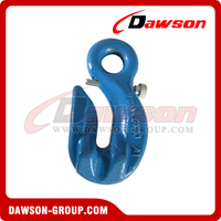 G100 / Grade 100 Special Eye Grab Hook with Safety Pin for Lifting Chain
