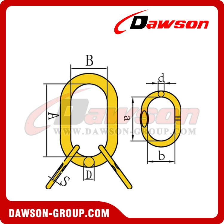 DS032 G80 EUROPEAN TYPE MASTER LINK ASSEMBLY - DAWSON GROUP LTD. - CHINA MANUFACTURER