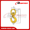 DS040 G80 Swivel Hook with Safety Latch for Heavy Duty Crane Lifting Chain Slings