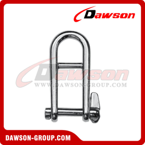 Stainless Steel Key Pin Shackle With Bar