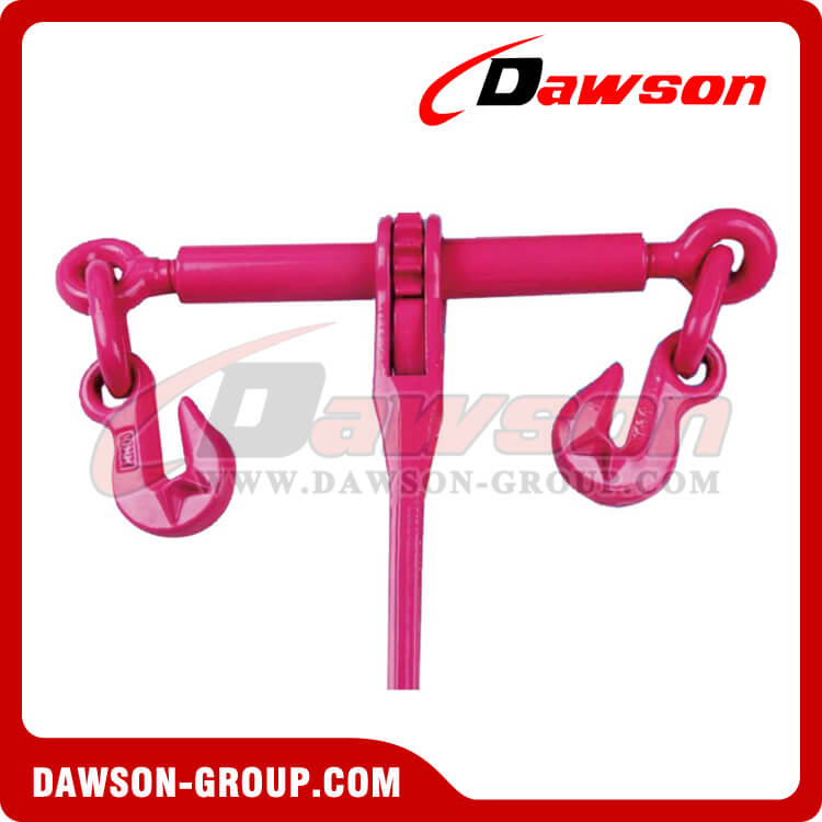 EN12195-3 RATCHET LOAD BINDER G80 LOADBINDER WITH CRADLE HOOK WITH SAFETY PIN