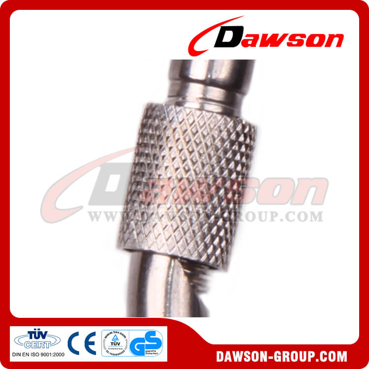 8 stainless steel snap hook with eyelet and screw AISI316 304 - Dawson Group Ltd. - China Manufacturer, Supplier, Factory, Exporter