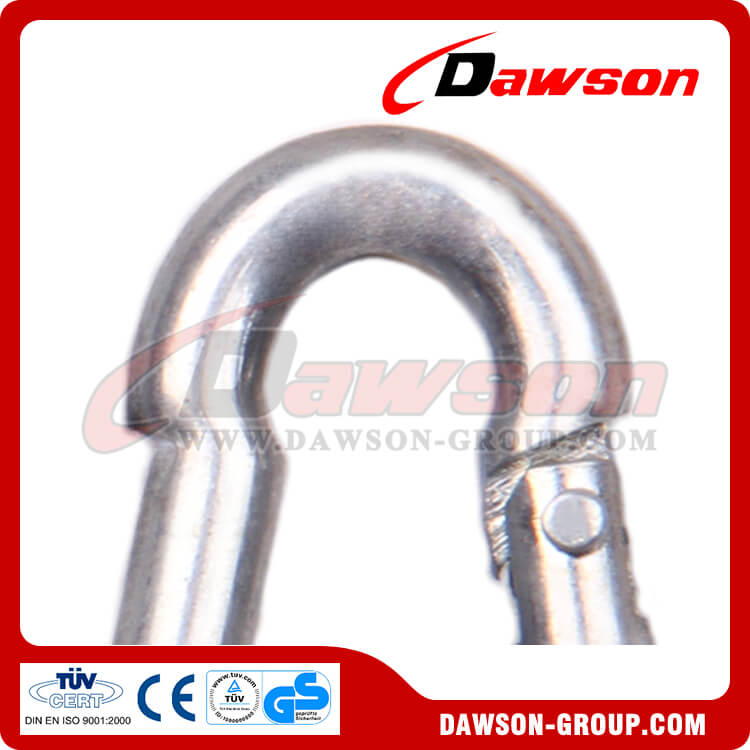 6 Stainless Steel Snap Hook - Dawson Group Ltd. - China Manufacturer, Supplier, Factory, Exporter