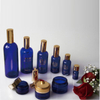 Blue Glass Dropper Bottles