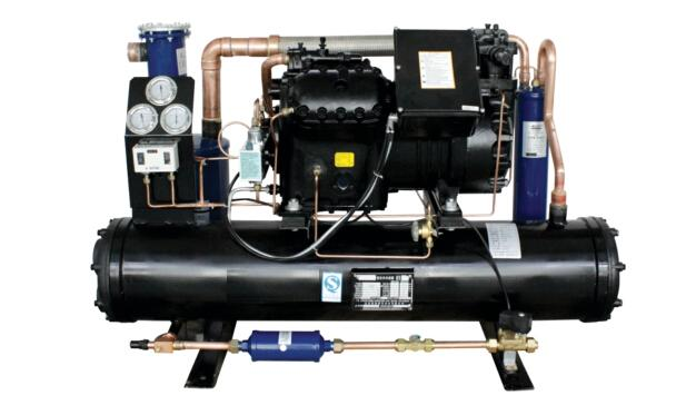 380V/50HZ SEMI - HERMETIC WATER - COOLED CONDENSING UNITS