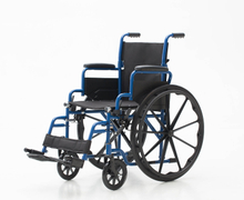 YJ-031 Steel manual wheelchair
