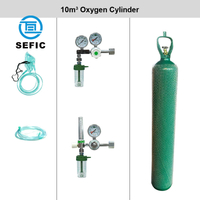 10 M3 Medical Oxygen Cylinder with Cga 540 Valve