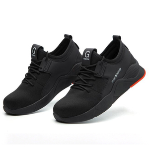 Cemented Light Weight Anti Slip Fashionable Sneakers Safety Shoes Composite Toe