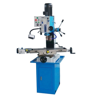 "ZAY7045M 31 1/2"" X 9 1/2"" Gear-Head Mill Drill Milling Machine with DRO"