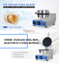 HCB-861 1-Head Electric Cone Baker fabricado con flamemax en Foshan China