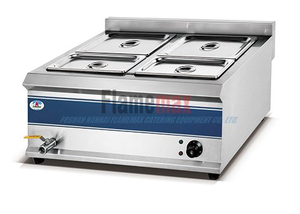 HB-4V 4-head High Efficiency Electric Bain Marie Western Kitchen Equipment