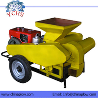 Corn Thresher With Diesel Engine