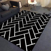 Super Soft Living Room Floor Carpet Print Area Rug