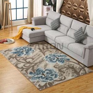 Contemporary Flower Design Area Rugs Home Carpet