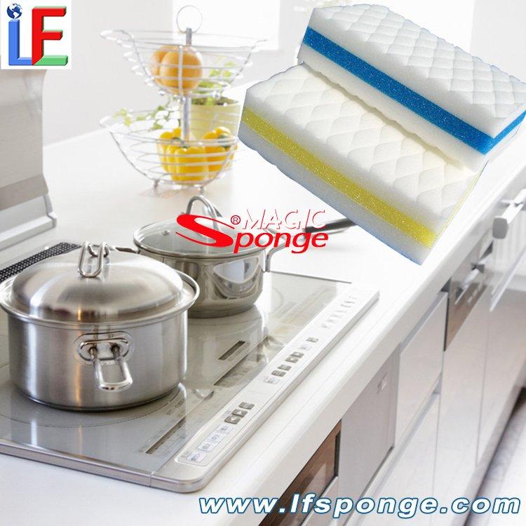 Compressed Magic Melamine Sponge Wholesale Melamine