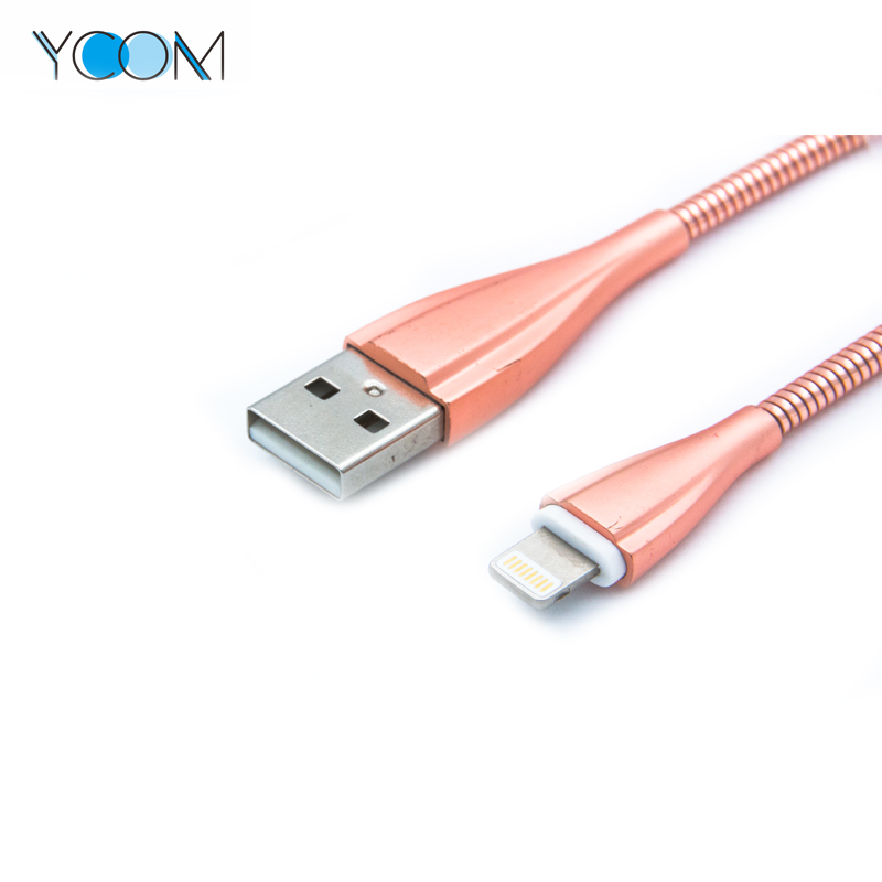 High Quality Spring USB Cable for Lightning
