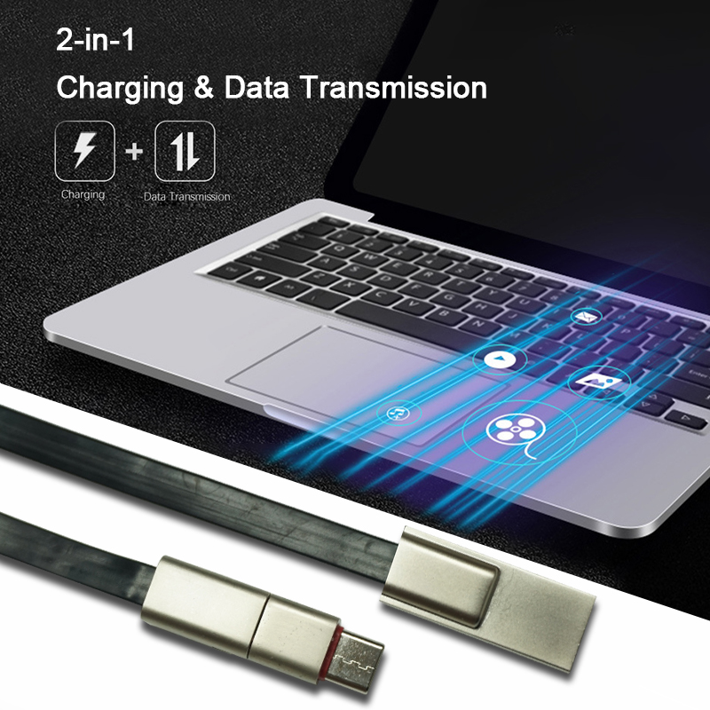 Repairable USB Charging Data Cable for Type-C