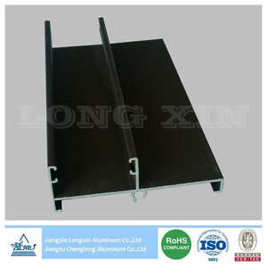 Black Anodized Aluminium Frame for Windows