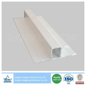 Natrual Anodizing Aluminum Profile for Connection