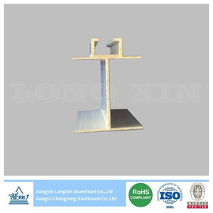 Silver Anodized Aluminum Profile for Ceiling
