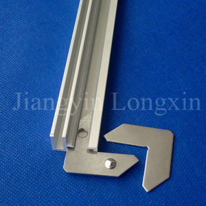 Well Designed Aluminium Profile for Exhibition with Locker