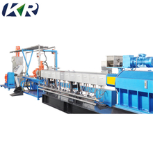 Factory Price High Speed 30kw Industrial Twin Screw Plastic Granulator Pvc Machine for Sale