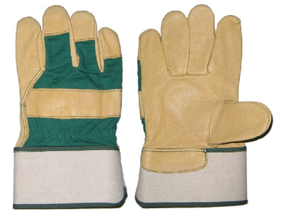 1286 pig grain rubber cuff working gloves