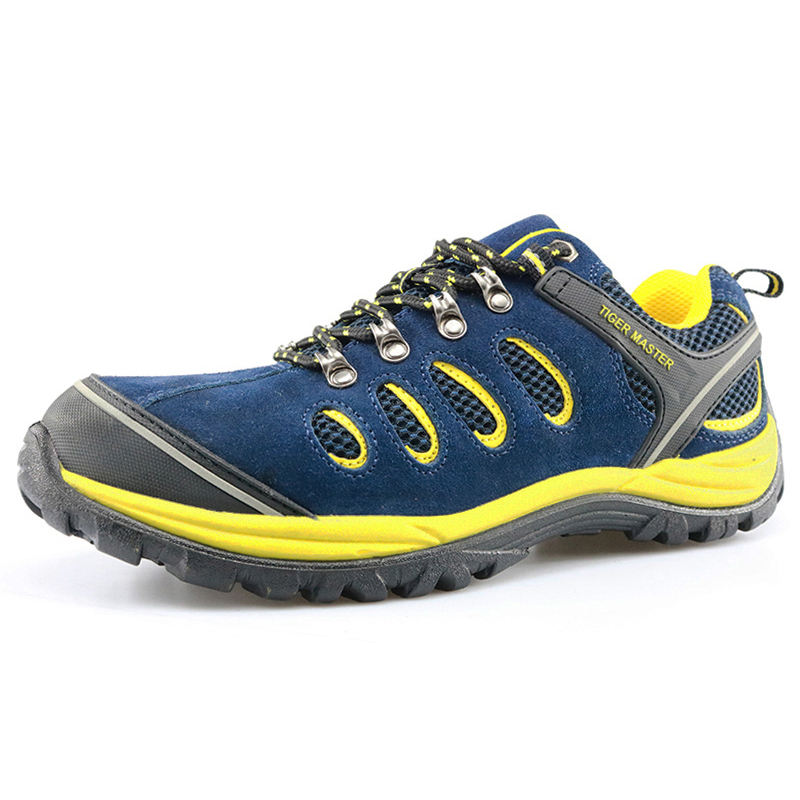 BTA003 Fashionable Pu Injection Sport Hiking Shoes Safety