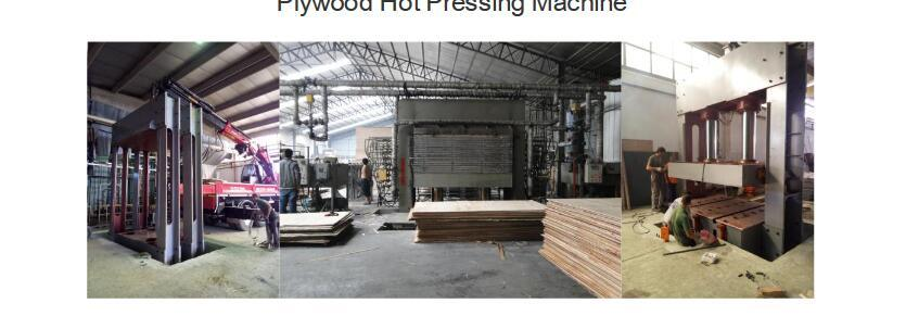 500 T Hot Press Machine for Plywood/Plywood Making Machine Hot Press Machine