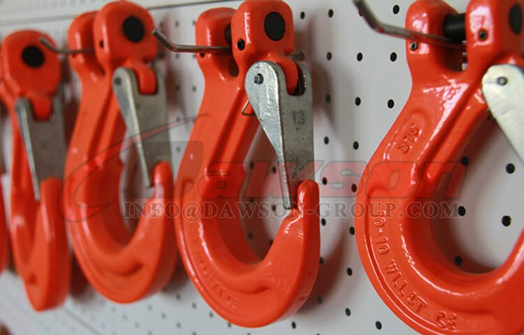 G80 Clevis Sling Hook with Cast Latch for Lifting Sling
