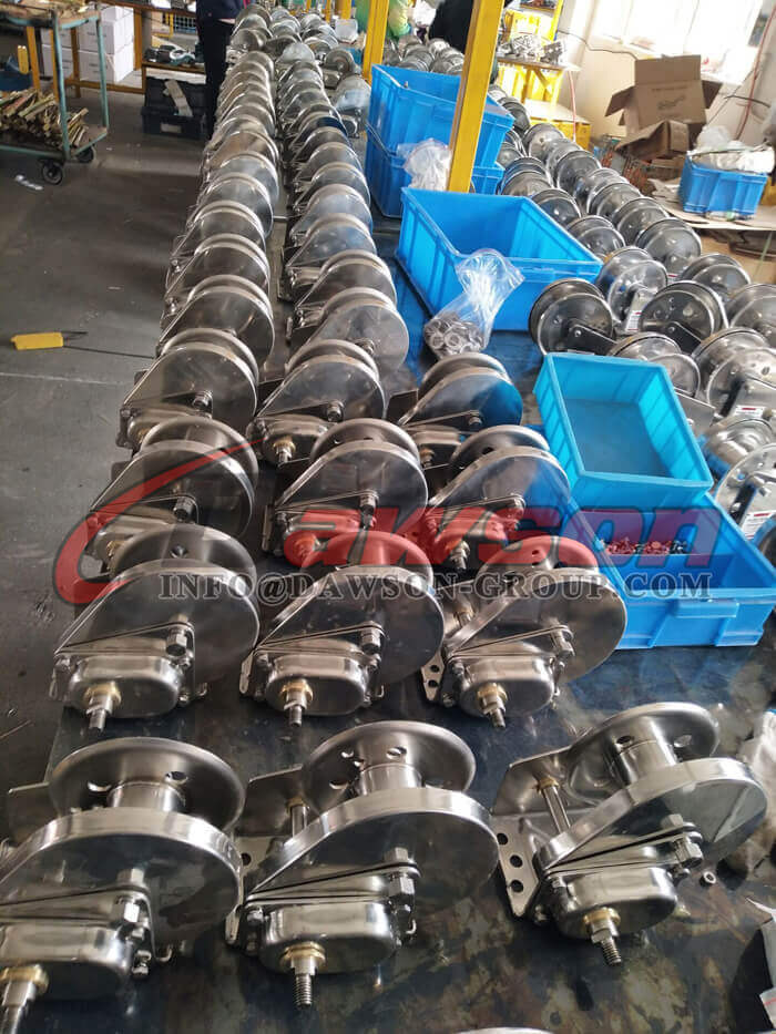 Stainless Steel Hand Winch for Pulling - Dawson Group Ltd. - China Manufacturer, Factory