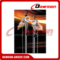 250KG Mini Aluminum Alloy Chain Hoist, Chain Block for Construction Site Lifter