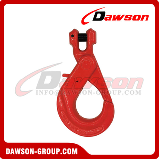 G80 / Grade 80 Italy Type Clevis Self-locking Hook for Crane Lifting Chain Slings