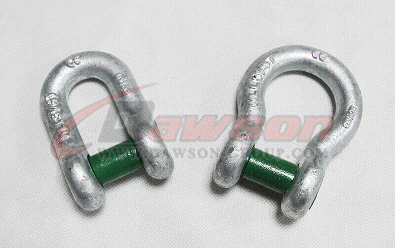 Forged Trawling Shackle with Square Sunken Hole - China Factory