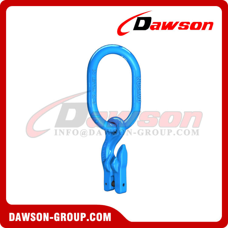 Grade 100 Master Link Assembly with Eye Grab Hook - Dawson Group Ltd. - China Factory, Supplier