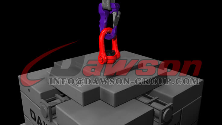 Application of G100 Web Sling Hook, Synthetic Alloy Round Sling Hook - Dawson Group Ltd. - China Manufacturer