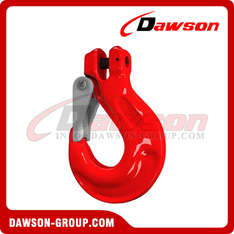 Grade 80 Clevis Sling Hook with Cast Latch for Chain Slings, G80 Clevis Hook - Dawson Group Ltd. - China Supplier