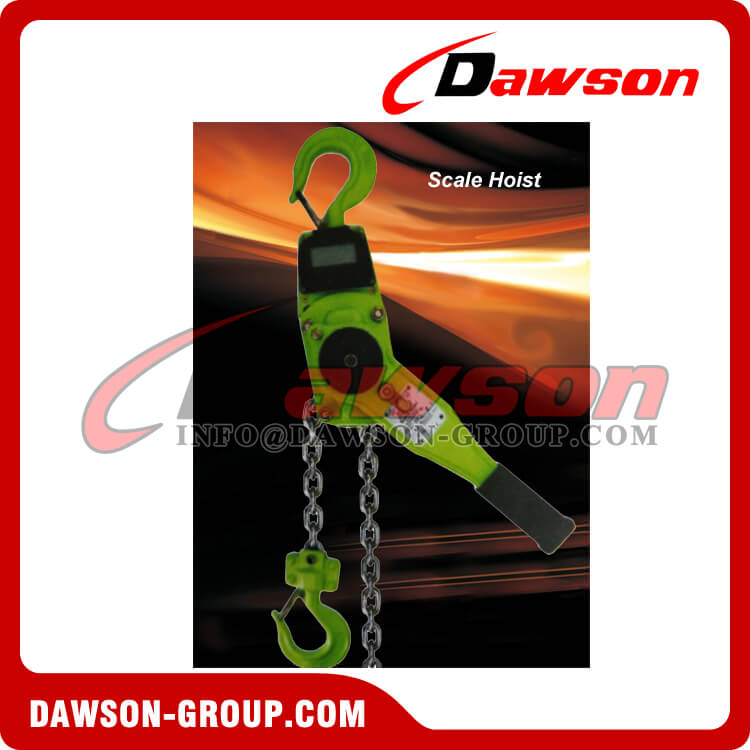 Crane Scale Lever Hoist with Display for 1Ton and 2Ton - Dawson Group Ltd. - China Supplier