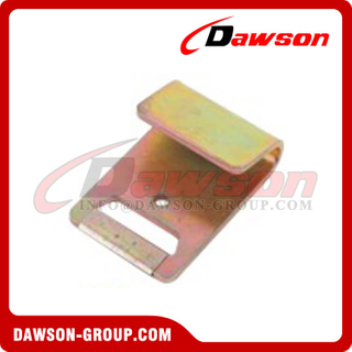 DSFH50401 B/S 5000KG/11000LBS 50MM 2'' Zinc Plated Flat Hook for Winch Strap