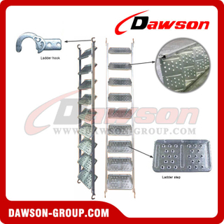 Fast lock ladder type scaffolding steel scaffoldings