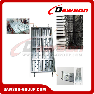 Steel Walk Board Galvanized Steel Plank For Scaffolding Board